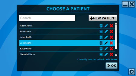 patients list